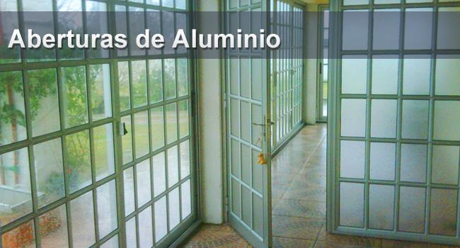 E r aberturas en aluminio for Aberturas en aluminio